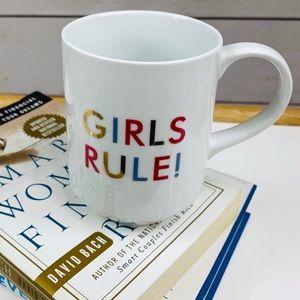 "13 oz Mug ""GIRLS RULE"""